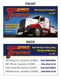 Tow Truck Business Cards Tow Times Magazine