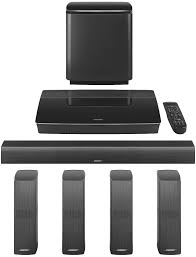 wireless home theater speakers bose bose black lifestyle 650 system 761683 1110
