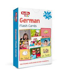 berlitz german flash cards