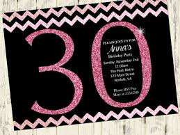 free printable 30th birthday party invitation templates party