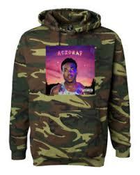 camo photo album chance the rapper acid rap album camouflage hoodie 3 merch green