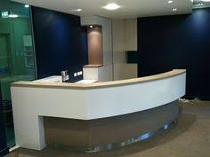 Officeworks Reception Desk Furniture Round Reception Desk Dimensions For Luxury Office