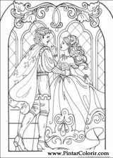 drawings to paint u0026 colour princess leonora print design 012