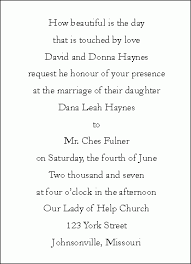 invitation wordings for marriage wedding invitation wording paperinvite