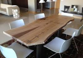 hand crafted kitchen tables live edge kitchen table unique dining room table toronto unique