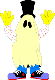 halloween title transparent background ghost free stock photo illustration of a ghost costume 4901