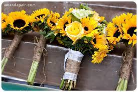 Fake Sunflowers Sunflower Wedding U003d Rustic Fun