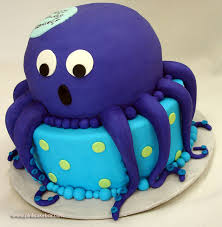 childrens cakes octopus 1st birthday cake childrens cakes