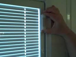 Pella Between The Glass Blinds Fixing Magnet On Internal Raise And Lower Mini Blind Door Glass