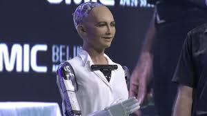 Ex Machina Asian Robot Real Life Ex Machina U0027 Robot Sophia Sweet Talks Audience Speaking