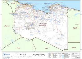Map Of Benghazi Un Libya General Logistics Planning Map Public Intelligence