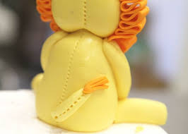 lion cake topper cuddly royalty how to make a lion cake topper