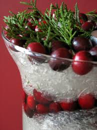 creativity with plastic wrap a snowy christmas centerpiece big