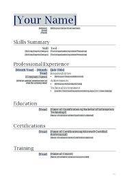 standard format resume standard resume template free word resume ate standard format