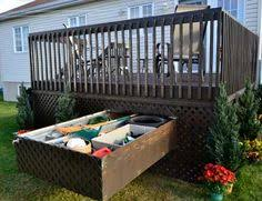 make use of all that wasted under deck storage space with fully