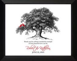 40 year anniversary gift ideas anniversary gift for parents 20th 30th 40th 50th wedding