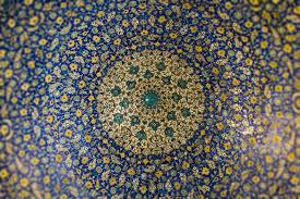Ceiling Art 9 Days Classic Iran Tour Iran Traveling Center