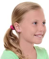 clip on stud earrings 58 pierced earrings for children children 039 s jewelry non