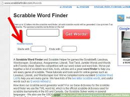 how to find words ending in certain sets of letters online