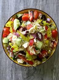 Garden Vegetable Salad by Summer Orzo Pasta Salad Recipe A Cedar Spoon