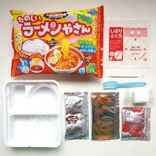 kit cuisine japonaise 1 sac popin cuire des nouilles boulettes bricolage jouets kracie