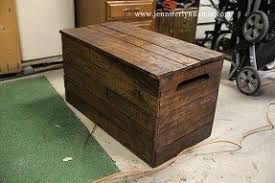 Build A Wooden Toy Box by Wooden Toy Chest Bench Foter