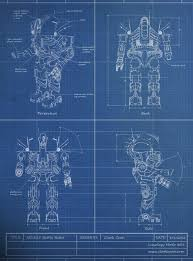Blue Print Of A House Robot Blueprint Schematic Foundry Community