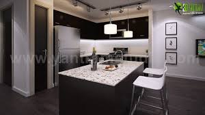 artstation modern ideas for 3d living and kitchen photorealistic