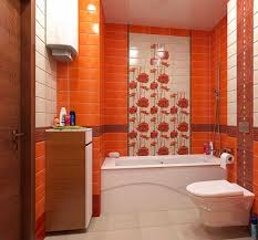orange bathroom ideas small and functional bathroom design ideas for cozy homes ideas