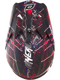 motocross helmets oneal blue red white 2018 3series mercury mx helmet oneal