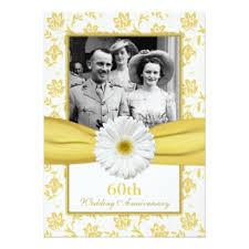 60th wedding anniversary cards invitations zazzle co uk