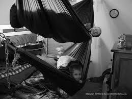 the utility of indoor hammock sleeping especially with kids