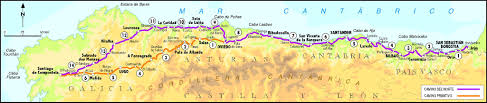Camino Frances Map by Faith And Food Spain 2018 Mission Travel
