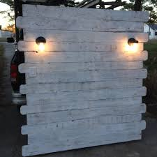 Bed Headboard Lamp by Pallet Headboard With Lights 134 Cool Ideas For Built A Headboard