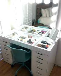 black vanity table ikea makeup vanity table maison rouge alice wood makeup vanity table and