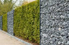 jardin cloture jardin les différents types de clôture