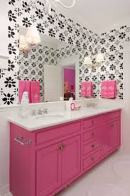 black and pink bathroom ideas pink countertops bathroom ideas and brown design black tile
