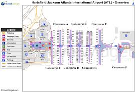 Map Of Midtown Atlanta by Atlanta Airport Terminal Map Atlanta International Terminal Map