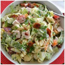 quick easy turkey club pasta salad small town woman