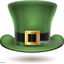 st patricks day green hat vector art getty images