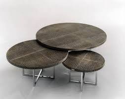coffee tables beautiful round ottoman coffee table fendi casa