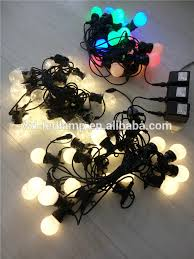 led party lights chain led strand light outdoor party string
