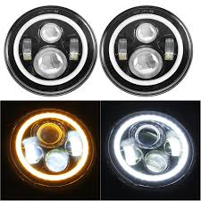 jeep headlights at night amazon com 7