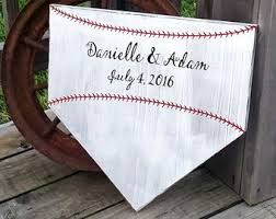 wedding platter guest book baseball guestbook etsy