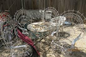 Antique Cast Iron Patio Furniture Estate Sale Roundup July 10 13 Beat The Heat This Weekend With A