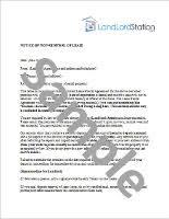 non renewal of lease letter landlordstation com
