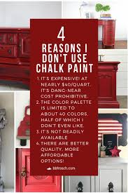 can i use chalk paint to paint my kitchen cabinets why i don t use chalk paint and what i use instead all