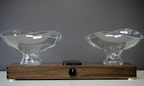 Speaker Designer Timbre Minimal Glass Wood Sound Modular 4