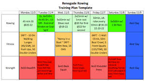 the renegade rowing training plan is u201cour u201d plan u2013 check out our