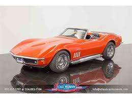 stingray corvette pictures 1969 chevrolet corvette stingray for sale on classiccars com 4